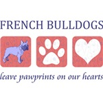 French Bulldog Pawprints