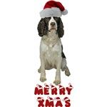 Springer Spaniel Christmas