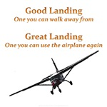 Good Landing/Great Landing