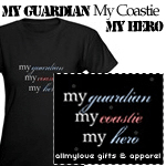My Guardian, My Coastie, My Hero Dark Apparel