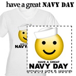 Have a Great Navy Day! T-shirts and Gifts