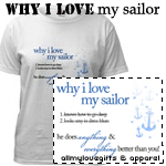 Why I Love My Sailor T-Shirts and Gifts