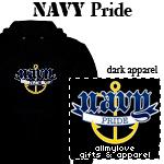 Navy Pride Dark Apparel