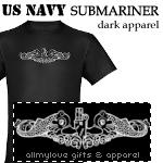 Navy Submariner Dark Apparel