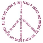 Give Peace a Chance - Symbol Wrap