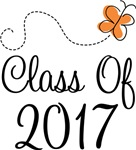 Class of 2017 Butterfly Graduate Gifts & Tees