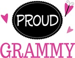 Proud Grammy Butterfly T-shirts and Gifts