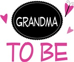 Grandma to Be Butterfly T-shirts and Gifts