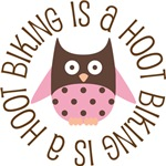 BIKING IS A HOOT OWL TEES AND GIFTS