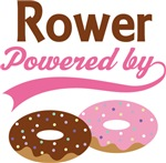 Rower Powered By Donuts Gift