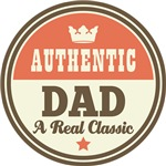Authentic Dad Vintage Gifts and T-Shirts