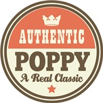 Authentic Poppy Vintage Gifts and T-Shirts