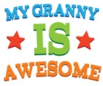 My Granny Is Awesome Kids Tshirts