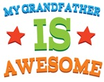 My Grandfather Is Awesome Kids Tshirts