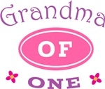 Grandma Of One T-shirt Gifts