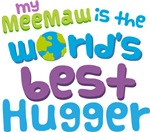 Meemaw Is Worlds Best Hugger