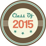 Vintage Class of 2015 School T-shirts