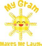 My Gram Makes Me Laugh Kids Apparel