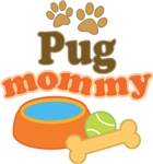 Pug Mom T-shirts and Gifts
