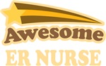 Awesome ER Nurse T-shirts