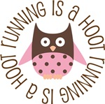 RUNNING IS A HOOT OWL TEES AND GIFTS
