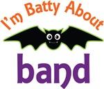 Batty About Band T-shirts