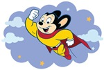 Mighty Mouse Fan Cartoon T-shirts