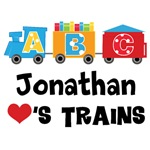 Personalized I Love Trains T-shirts