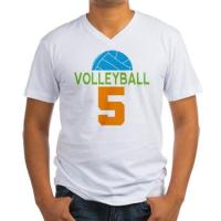 Volleyball Player Custom Number T-shirts