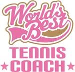 World's Best Tennis Coach T-shirts