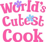 Worlds Cutest Cook Gifts and Tshirts