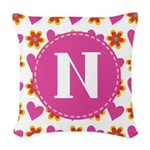 Heart and Daisy Monogram Gifts