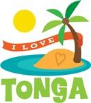 I Love Tonga T-shirts