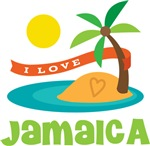 I Love Jamaica T-shirts