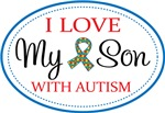 Autism I Love My Son Gifts and Shirts