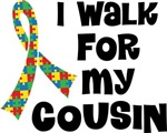 Autism I Walk For My Cousin T-shirts