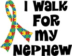 Autism I Walk For My Nephew T-shirts