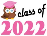 Class of 2022 Graduation Tee Shirts (owl)