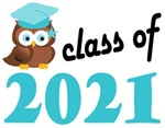 2021 Graduation Tee Shirts (owl)