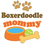 Boxerdoodle Mom T-shirts and Gifts
