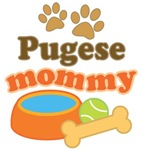 Pugese Mom T-shirts and Gifts