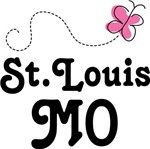 St Louis Missouri Butterfly T-shirts and Hoodies