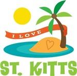 I Love St Kitts T-shirts