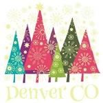 Denver Colorado Holiday Tshirts