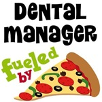 Dental Manager Pizza T-shirts