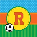 Soccer Kids Personalized Monogram