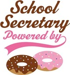 School Secretary Powered By Donuts Gift