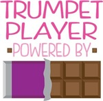 TRUMPET PLAYER powered by chocolate