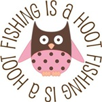 FISHING IS A HOOT OWL TEES AND GIFTS