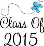 Blue Grad Class Of 2015 T-shirts